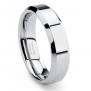 Tungsten Carbide Men's Wedding Band Ring Sz 6.0