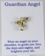 6030277 Guardian Angel Lapel Pin Brooch Tack Pin Christian Religious Jewelry