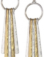 Lucky Brand Metal Paddle Drop Earrings, 2.44