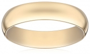 Men's 14K Yellow Gold 5mm Light Comfort Fit Wedding Band, Size 9