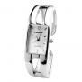 Smartbargain Women's Dress Rectangle Quartz Analog Bracelet Wrist Watch Silvery
