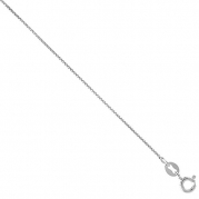 Sterling Silver Box Chain Necklace 0.8mm Very Thin Nickel Free Italy, 16 inch
