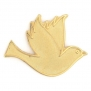 Gold Dove Peace 3/4 Lapel Pin