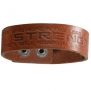 Leather Strength Christian Wristband - Isaiah 40:31
