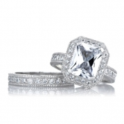 Celebrity Inspired Wedding Ring Set